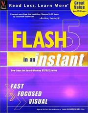 Cover of: Flash 5 in an Instant