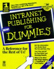 Cover of: Intranet Publishing With Office 97
