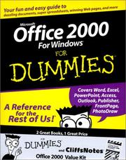 Cover of: Office 2000 Value Kit