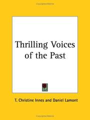 Cover of: Thrilling Voices of the Past