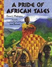 Cover of: A pride of African tales