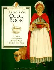 Cover of: Felicity's cookbook