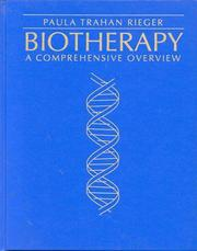 Cover of: Biotherapy