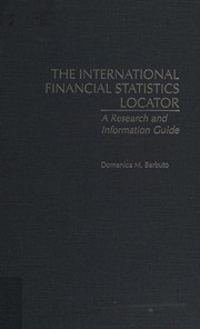 Cover of: The international financial statistics locator