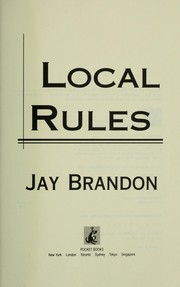 Cover of: Local rules