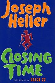 Cover of: Closing time: a novel