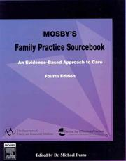 Cover of: Mosby's Family Practice Sourcebook