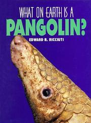 Cover of: What on earth is a pangolin