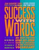 Cover of: Peterson's success with words