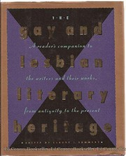 Cover of: The Gay and lesbian literary heritage