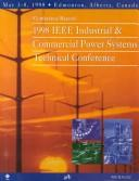 Cover of: Industrial and Commercial Power Systems Technical Conference, 1998 IEEE