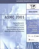 Cover of: Semiconductor Manufacturing Conference & Workshop (Asmc)