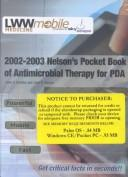 Cover of: 2002-2003 Nelson's Pocket Book of Pediatric Antimicrobial Therapy for PDA (CD-ROM)