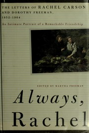 Cover of: Always, Rachel