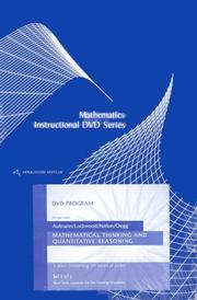 Cover of: Instructional DVD Series (Mathematics Instructional DVD Series, Set 1 of 1)