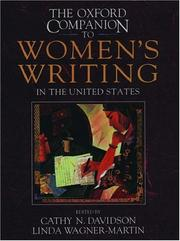 Cover of: The Oxford companion to women's writing in the United States