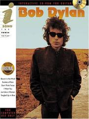 "Cover of: Bob Dylan - iSong CD-ROM: iSong (9"" x 12"" Pack) (Isong)"