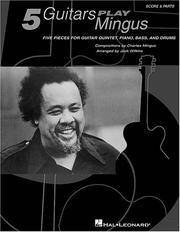 Cover of: Five Guitars Play Mingus
