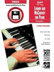 Cover of: Lennon and McCartney for Piano