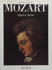 Cover of: Mozart Opera Arias: Soprano