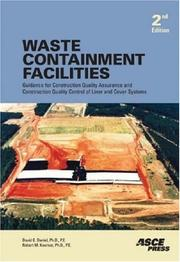Cover of: Waste Containment Facilities, Second Edition