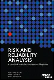 Cover of: Risk and Reliability Analysis