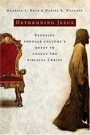Cover of: Dethroning Jesus
