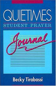 Cover of: Quiettimes Student Prayer Journal