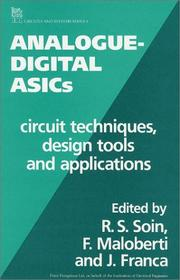 Cover of: Analogue-Digital Asics