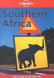 Cover of: Lonely Planet Southern Africa
