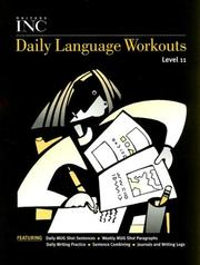 Cover of: Daily Language Workouts