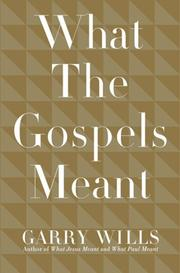 Cover of: What the Gospels Meant