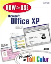 Cover of: How to use Microsoft Office XP: visually in full color