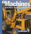 Cover of: Machines (Let Me Read, Level 1)