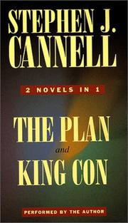 Cover of: Stephen J. Cannell: The Plan & King Con