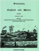 Cover of: Visitation of England & Wales Notes (Visitation of England & Wales Notes)