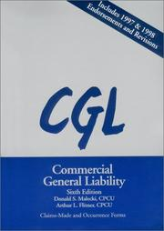 Cover of: Commercial General Liability