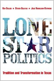Cover of: Lone Star Politics:Tradition and Transformation in Texas