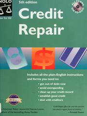 Cover of: Credit Repair (Credit Repair, 5th ed)