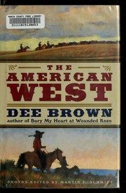 Cover of: The American West