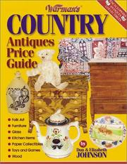 Cover of: Warman's Country Antiques Price Guide