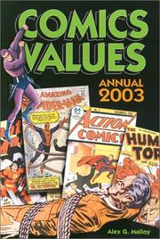 Cover of: Comics Values Annual 2003