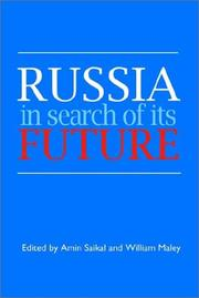 Cover of: Russia in search of its future