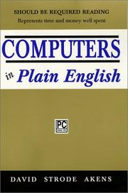 Cover of: Computers In Plain English