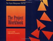 Cover of: Project Management Workbook - Packet of 5