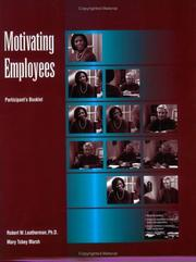 Cover of: Motivating Employees Participant Book