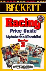 Cover of: Racing Price Guide and Alphabetical Checklist, Number 2