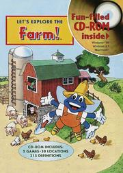 Cover of: Let's Explore the Farm (Junior Field Trip Books)