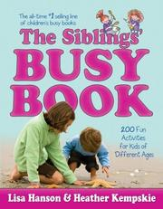 Cover of: The Siblings' Busy Book