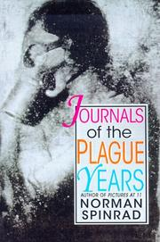 Cover of: Journals of the Plague Years
